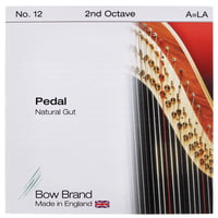 Bow Brand : Pedal Nat. Gut 2nd A No.12