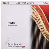 Bow Brand : Pedal Natural Gut F No.0