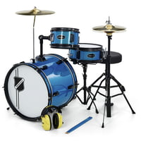 Millenium : Youngster Drum Set Bundle Blue