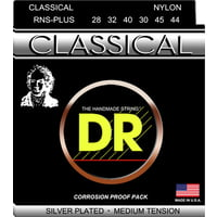 DR Strings : DR NYLON CLASSICAL - RNS-PLUS