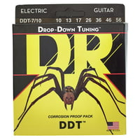 DR Strings : DR DROP-DOWN TUNING - DDT7-10