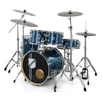 Millenium : Hybrid Practice Drum Set BL