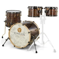 Schagerl Drums : Dark Vintage Studio Kit