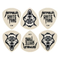 Dunlop : Hetfield\'s WH Fang Cust. Flow