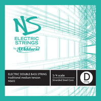 Addario : NS612 Electric Bass String D
