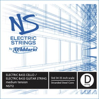 Addario : NS712 Electric Bass/Cello D