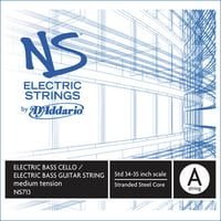Addario : NS713 Electric Bass/Cello A