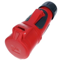 PCE : CEE Grip Connector 32A red