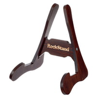 RockStand : Wood A-Frame Stand Brown Oak