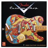 Fender : Custom Shop Calendar 2020
