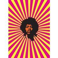 My World : Jimi Hendrix Greeting Card
