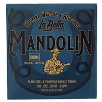 La Bella : 880M Mandolin Ph.Br. Medium