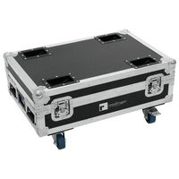 Roadinger : Flightcase for 4x AKKU Bar 6
