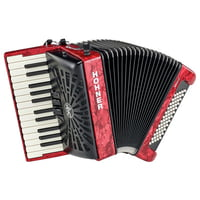 Hohner : Bravo II 60 Red silent key