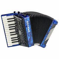 Hohner : Bravo II 48 Blue silent key