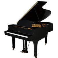 Yamaha : G5E Grand Piano used, Black