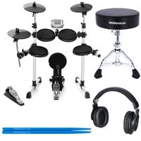 Millenium : MPS-150 E-Drum Junior Bundle
