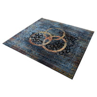 Drum N Base : Vintage Drum Rug Blue