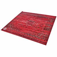 Drum N Base : Vintage Drum Rug Red