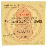 Weidler : Tenor Viol D\' String