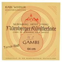 Weidler : Tenor Viol C String
