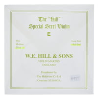 W.E. Hill & Sons : E-String 4/4 Strong BE