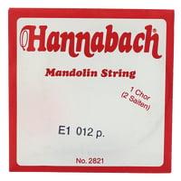 Hannabach : Mandolin String E 012 (2pcs)