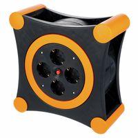 REV Ritter : Cable Box X-Tra black - orange