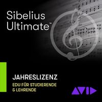 Avid : Sibelius Ultimate EDU 1Y Subs.