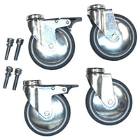 Jaspers : Caster Set with 4 casters/100