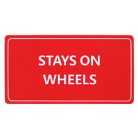Stageworx : Tourlabel Stays On Wheels