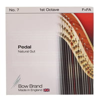 Bow Brand : Pedal Nat. Gut 1st F No.7