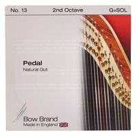 Bow Brand : Pedal Nat. Gut 2nd G No.13