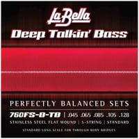 La Bella : 760FS-B-TB Deep Talkin Bass