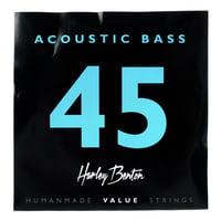 Harley Benton : Valuestrings Acoustic Bass 45