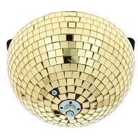 Eurolite : Half Mirror Ball 20cm gold