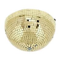 Eurolite : Half Mirror Ball 30cm gold