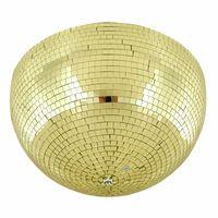 Eurolite : Half Mirror Ball 40cm gold