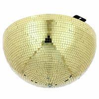 Eurolite : Half Mirror Ball 50cm gold