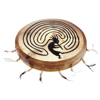 Terre : Shaman Drum 35cm Kokopelli