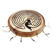 Terre : Shaman Drum 40cm Kokopelli