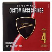 Dingwall : 4-Str. Bass 045-100 Set RW NP