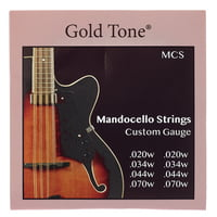 Gold Tone : MCS Mandocello Strings