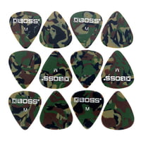 Boss : Celluloid Pick Pack M Camo