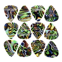 Boss : Celluloid Pick Pack M Abalone