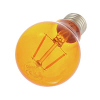 LEDVANCE : LED Star Clas 1.6W E27 Orange