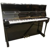 Seiler : Piano, used, black