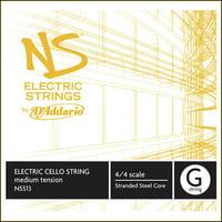 Addario : NS513 Electric Cello G String