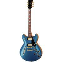 Harley Benton : HB-35Plus Metallic Blue