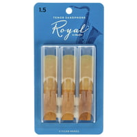 DAddario Woodwinds : Royal Tenor Sax 1.5 - 3-Pack